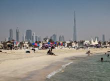 "A representational image of a Dubai beach Credit:""© Arne Müseler / arne-mueseler.de / CC-BY-SA-3.0"""