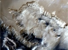 3D portrayals of Ophir Chasma terrain of Mars by Mangalayaan (MOM) Credit:ISRO