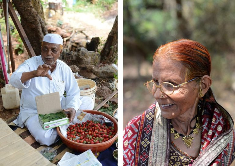 Yunus Nalaband and his wife Roshan Nalaband: Small farmers, growing mainly strawberries on their three acres.