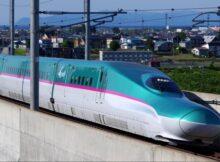 A bullet train (Photo via NHRSCL Website)