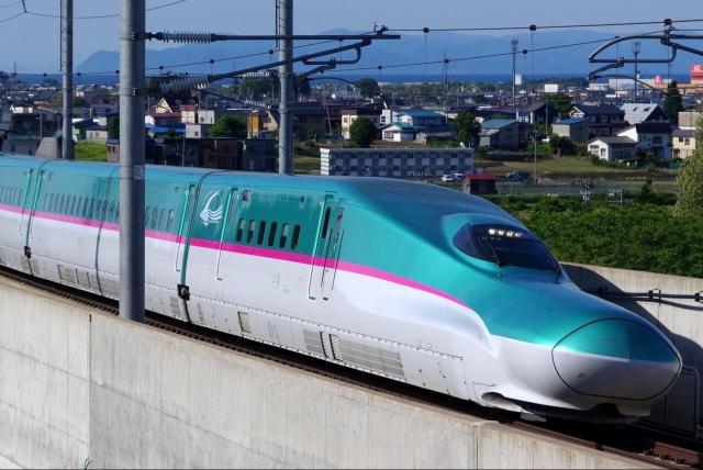 A bullet train (Photo via NHRSCL Website) NRP